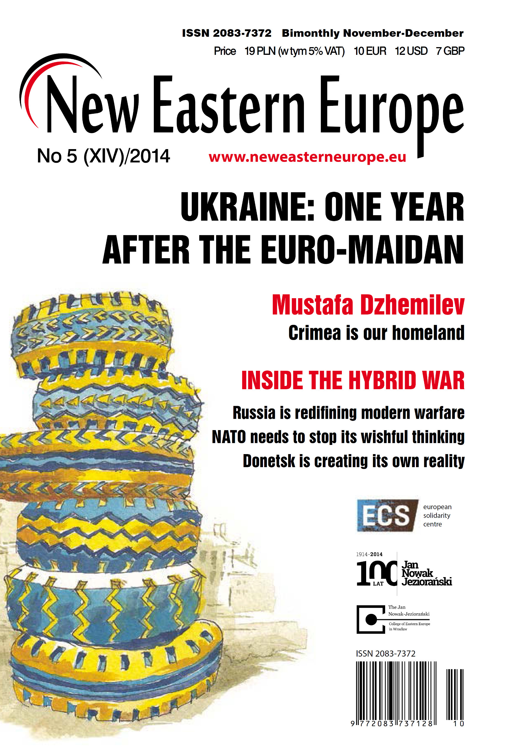 CoverNEE52014 - New Eastern Europe - A bimonthly news magazine