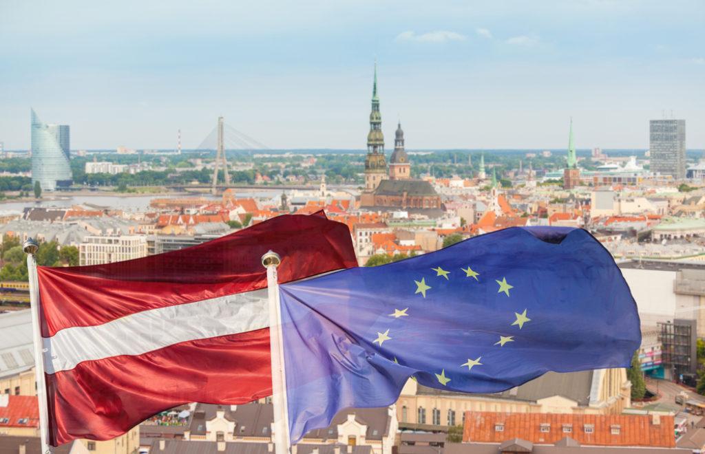 Riga flags