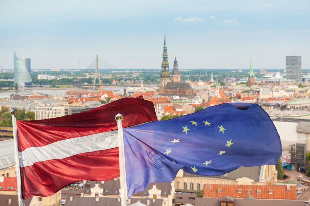 Riga flags