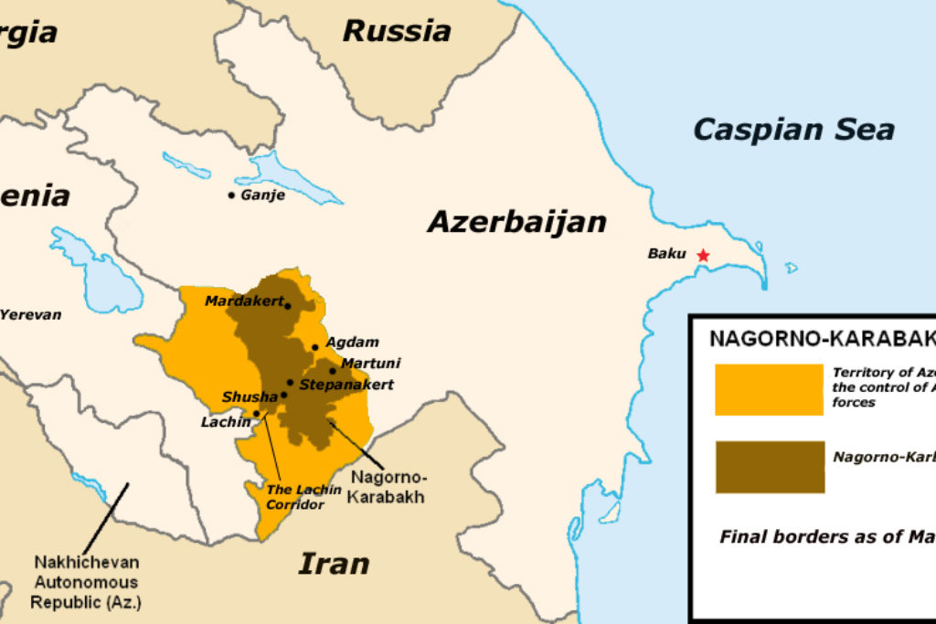 Nagorno-Karabakh Occupation Map