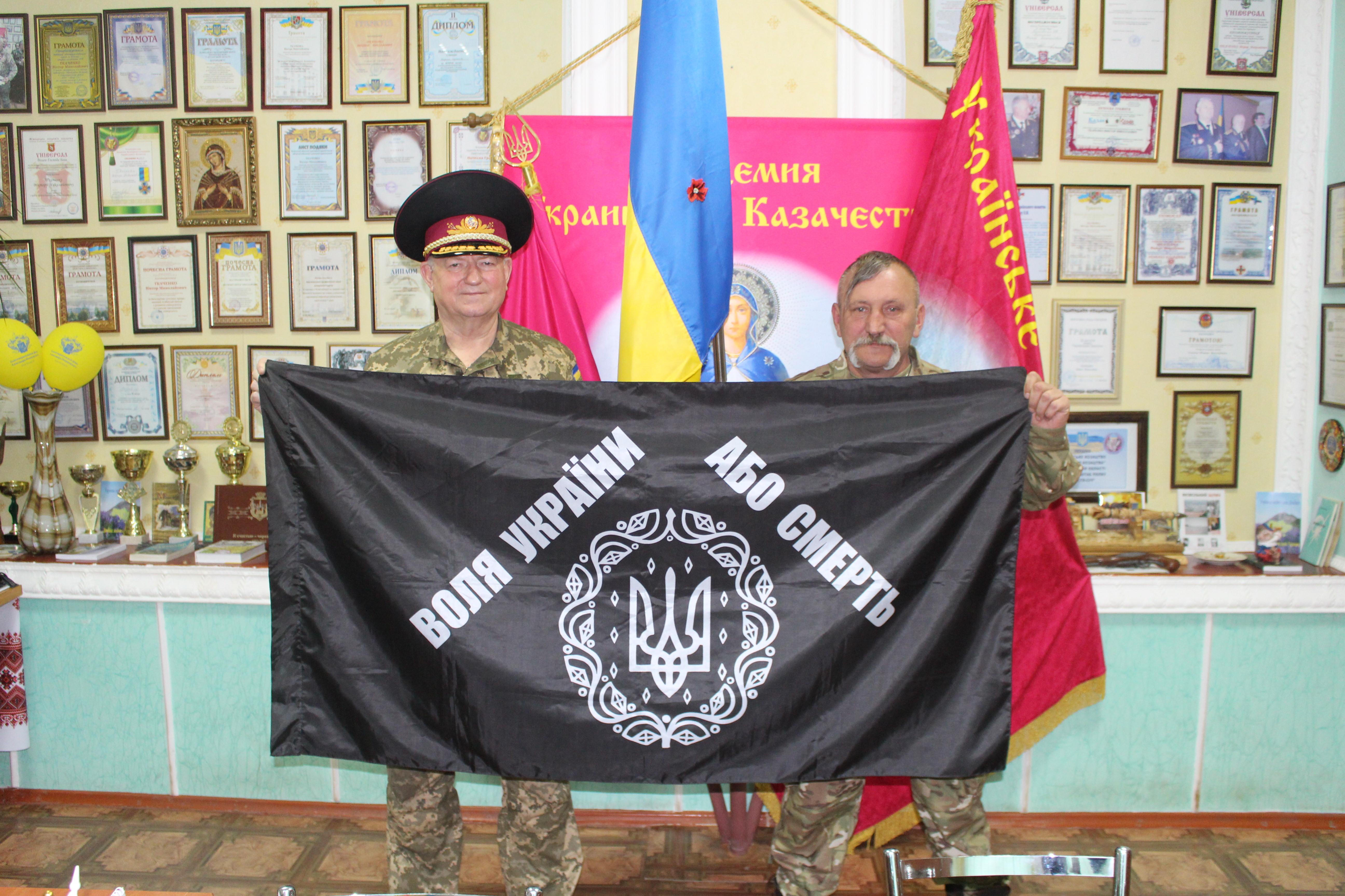 Cossacks soldiers fighting for Ukraine Shchastya 26.04.2016 Luc Maffre