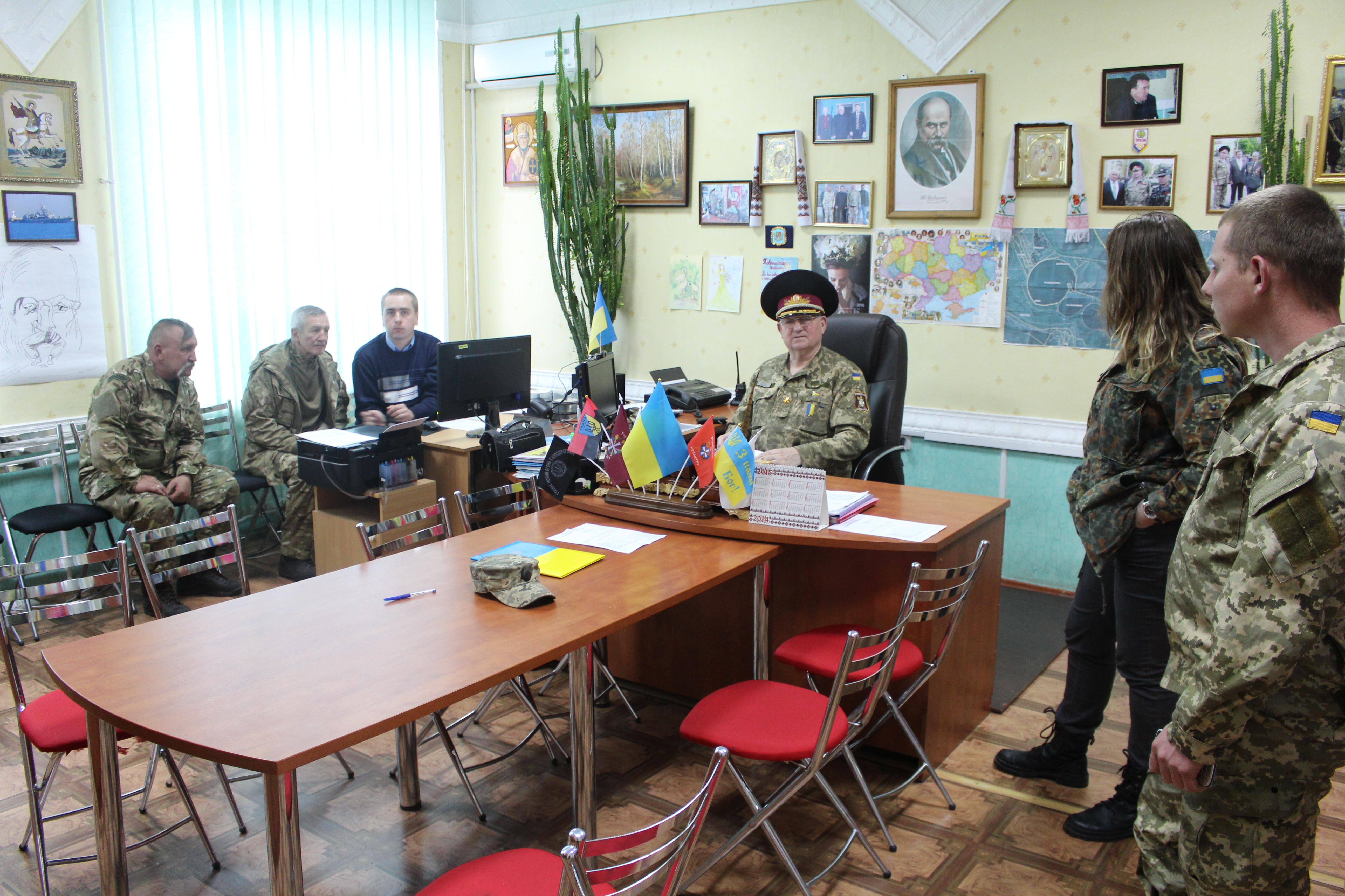 Office of Cossack commander Shchastya 26.04.2016 Luc Maffre