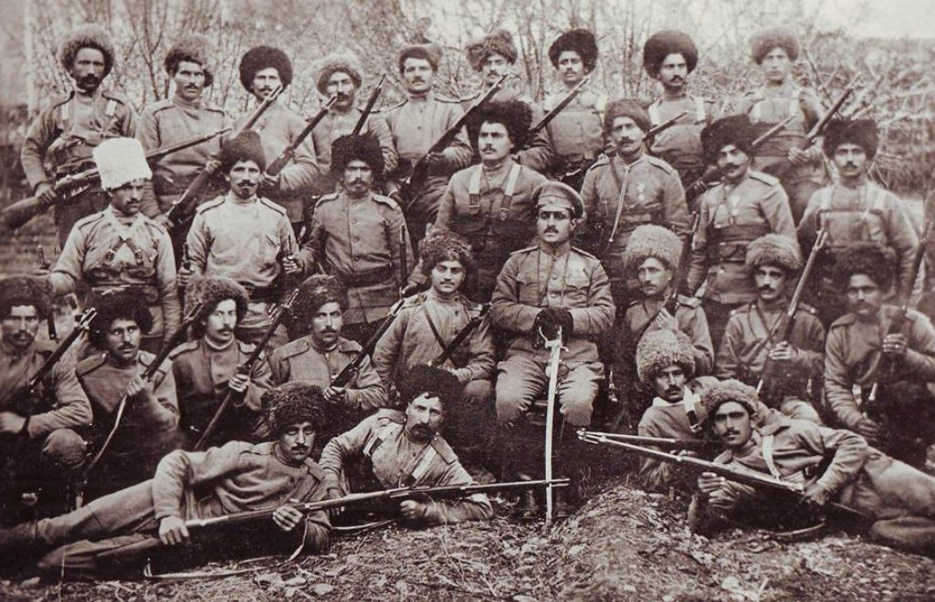 Garegin Nzhdeh Armenian volunteer detachment 1915