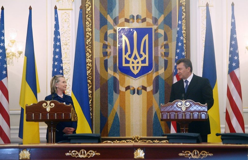 Secretary Clinton and Ukrainian President Hold Joint Press Conference