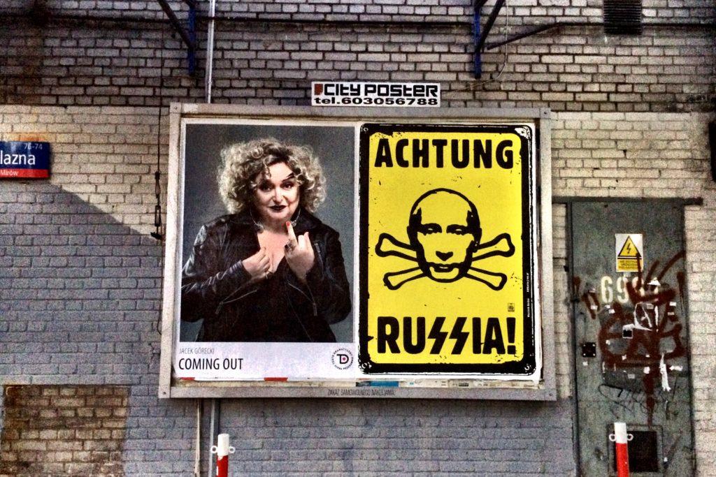 Anti-Russian Anti-German conflation