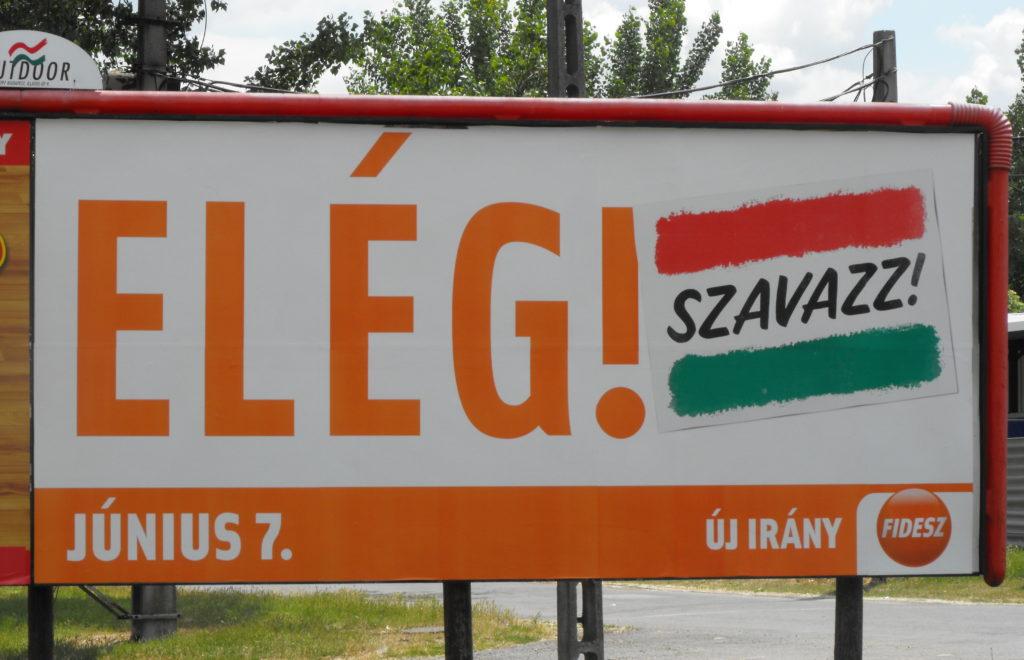 Fidesz poster Makó