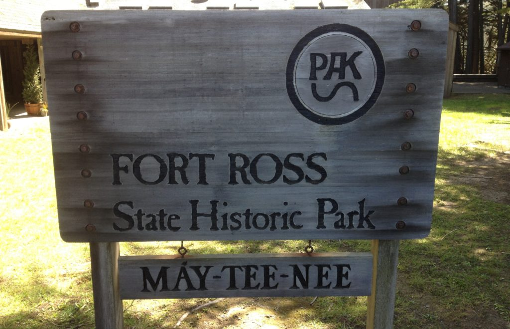 Fort Ross Sign