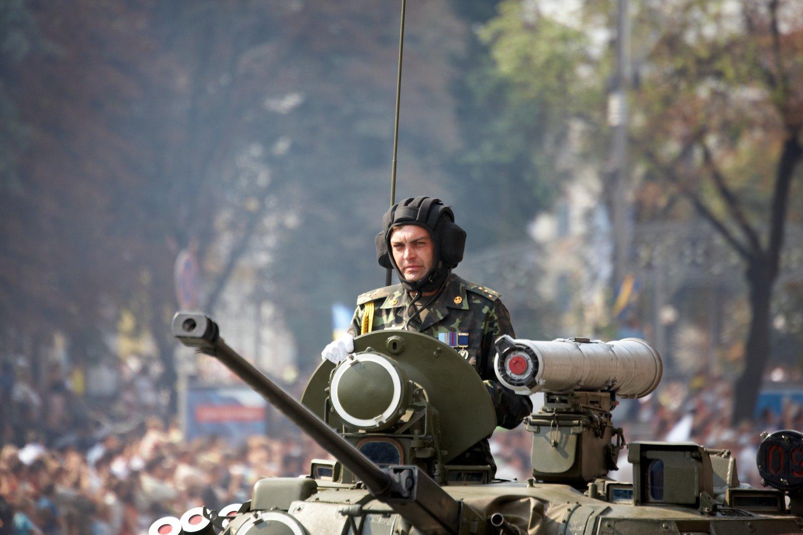 Ukrainian Tank umland