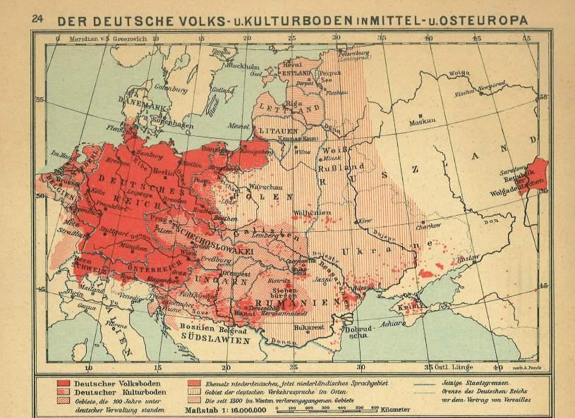 german yiddish the lingua franca of central and eastern europe ernst bttcher 1930 teubners geschichtsatlas leipzig teubner