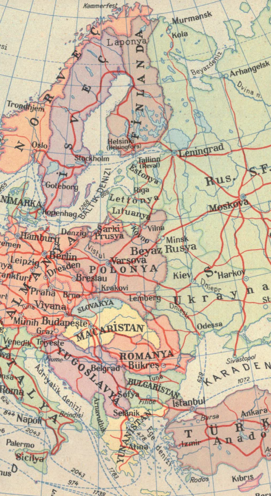 Eighty years later: Under the map of Europe - New Eastern Europe - A