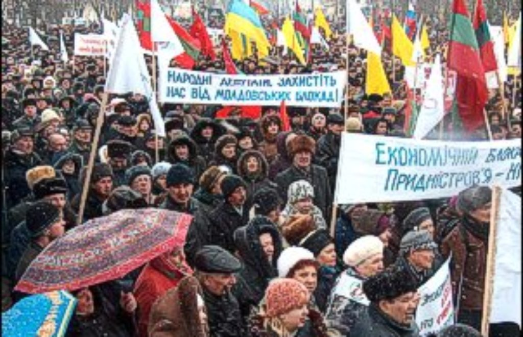 14.03.2014 Demonstration in Transnistria