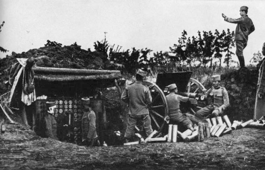 09.04.2014 Serbian Artillery WW1