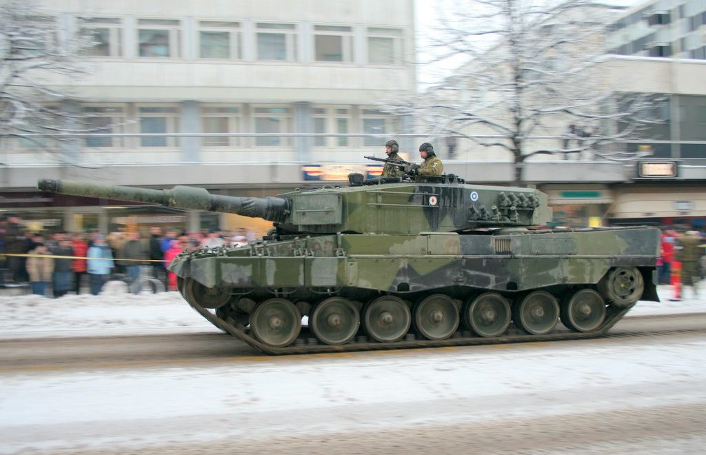 Leopard 2A4 Main Battle Tank Finland