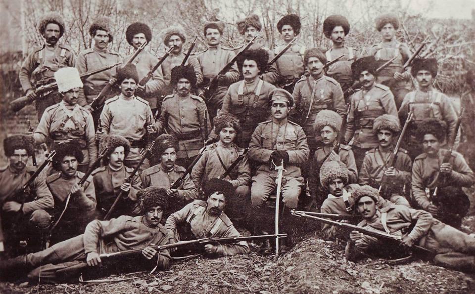 Garegin Nzhdeh Armenian volunteer detachment 1915