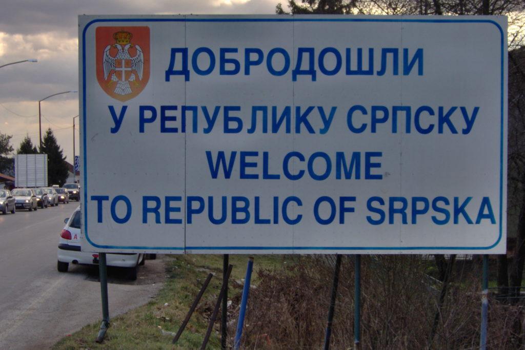 Welcomesign in Brod Republika Srpska