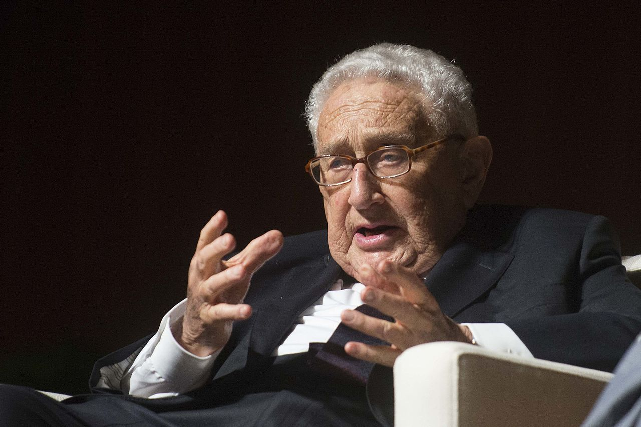 Henry Kissinger at the LBJ Library 2016