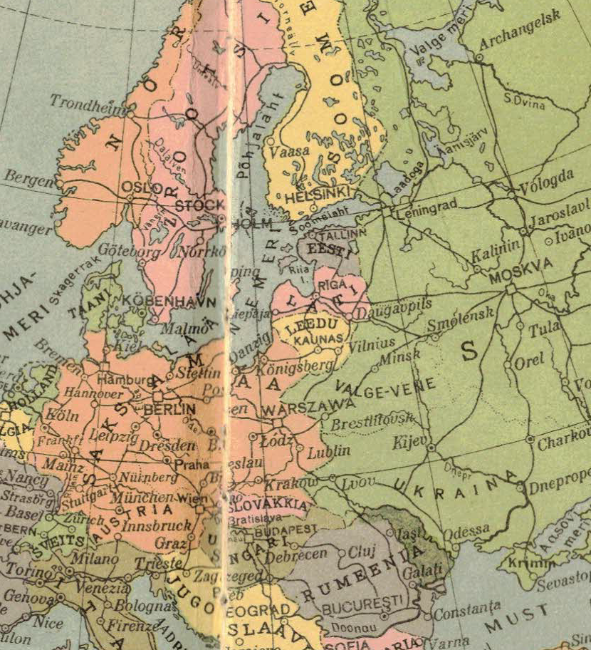Eighty years later: Under the map of Europe - New Eastern ...