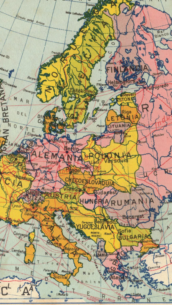Eighty Years Later Under The Map Of Europe New Eastern Europe A Bimonthly News Magazine Dedicated To Central And Eastern European Affairs