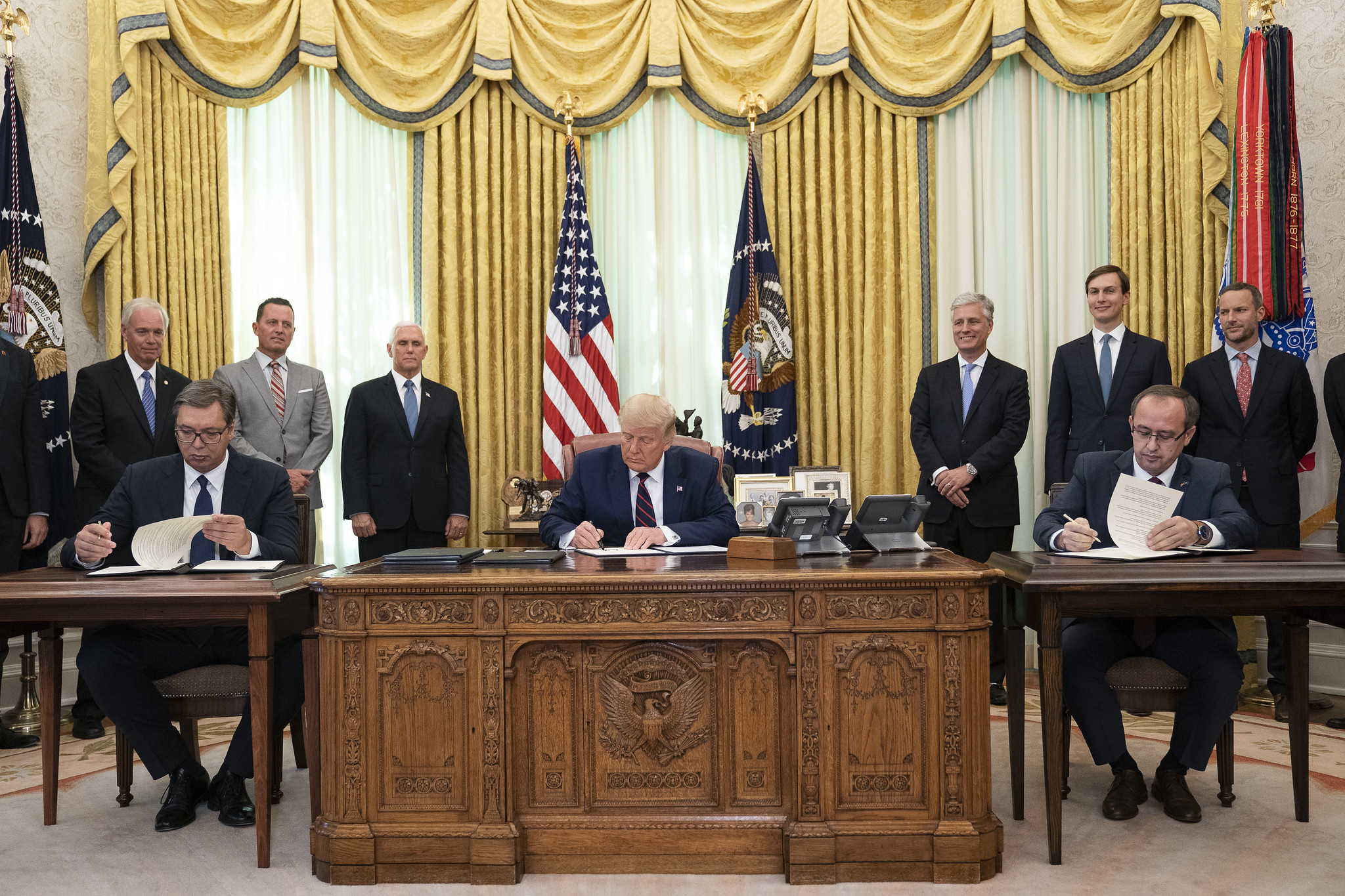 Kosovo-Serbia Summit at the White House: What was it all about? - New  Eastern Europe - A bimonthly news magazine dedicated to Central and Eastern  European affairs